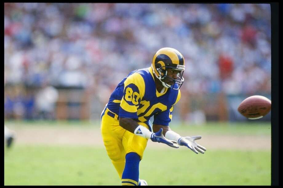 Pick No. 32 | 1983 | Los Angeles Rams Henry Ellard | Wide receiver | Fresno State Ellard was a model of consistency in his 16-year NFL career, teaming with quarterback Jim Everett and fellow wideout Flipper Anderson to give the Rams one of the league's most exciting passing attacks. He was named AP first-team All-Pro in 1988, when he led the NFL with 1,414 receiving yards. Photo: Rick Stewart, Getty Images