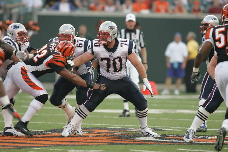 Pick No. 32 | 2005 | New England Patriots Logan Mankins | Guard | Fresno State Many draftniks considered it a reach when the Patriots took Mankins with the last pick in the first round in 2005, but in New England he's developed into one of the best guards in recent memory. A six-time Pro-Bowler and All-Pro in 2010, Mankins has helped protect Tom Brady en route to three Super Bowl appearances, including a win in Super Bowl XXXIX. Photo: Joe Robbins, Getty Images