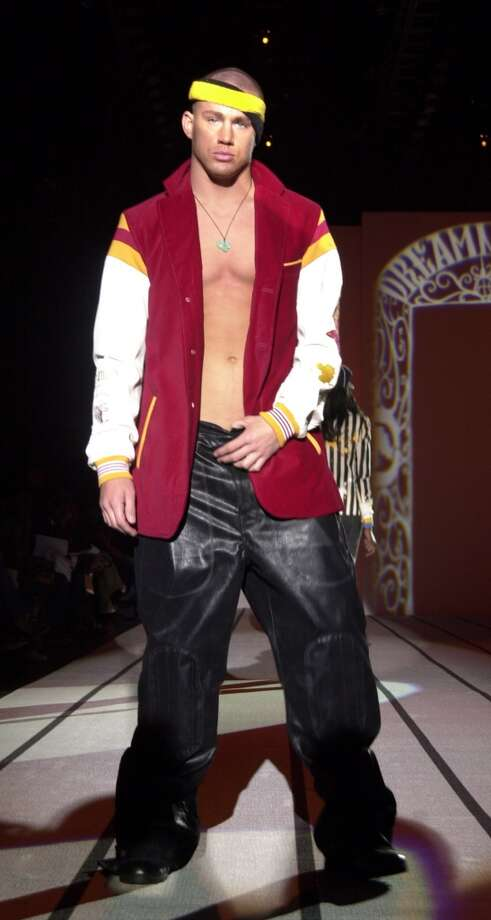 And we are thankful for that. Otherwise this amazing photo of Channing Tatum modeling for Marc Ecko during Mercedes-Benz Fashion Week Fall 2003 would not exist. Photo: Djamilla Rosa Cochran, WireImage