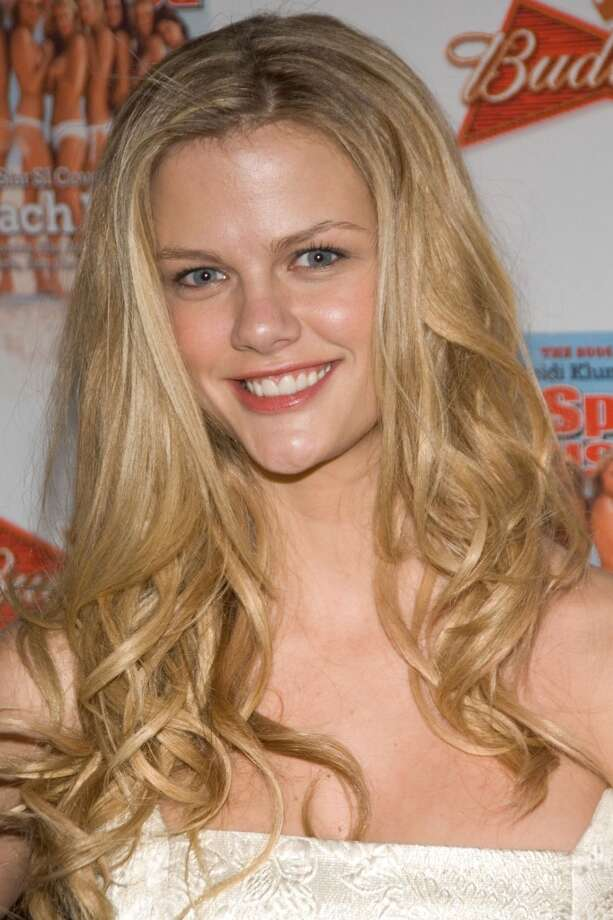 Brooklyn Decker during a 2006 Sports Illustrated Swimsuit Issue Press Conference. Photo: Lawrence Lucier, FilmMagic