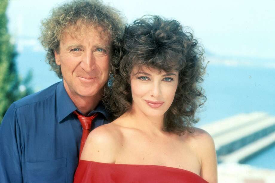 Gene Wilder and Kelly LeBrock in publicity portrait for the film 'The Woman In Red', 1984. (Photo by Orion/Getty Images) Photo: Archive Photos, Getty Images