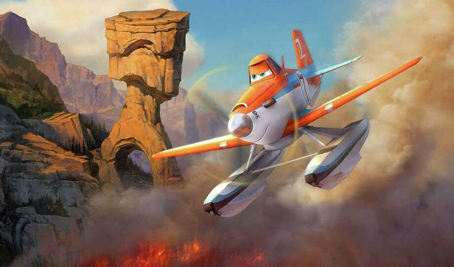 "Dane Cook provides the voice of Dusty Crophopper in Disney's animated ""Planes: Fire & Rescue."" Photo: HANDOUT, McClatchy-Tribune News Service / MCT"