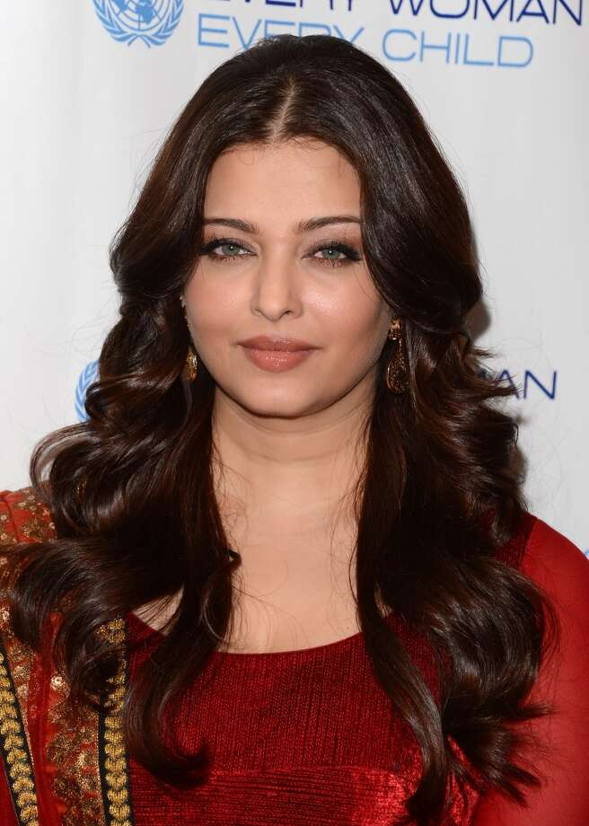 Aishwarya Rai, considered to be one of the most beautiful women in the world, is a huge Bollywood star. She got her start as a model, winning the Miss World pageant in 1994. Photo: Andrew H. Walker, Getty Images