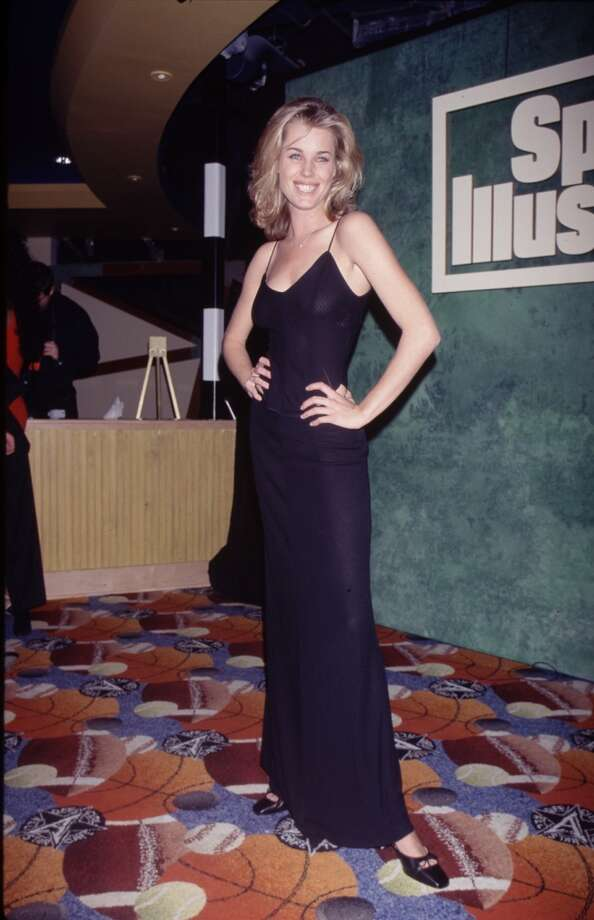 Rebecca Romijn at a Sports Illustrated event in the early '90s. Photo: Time & Life Pictures, Time Life Pictures/Getty Images