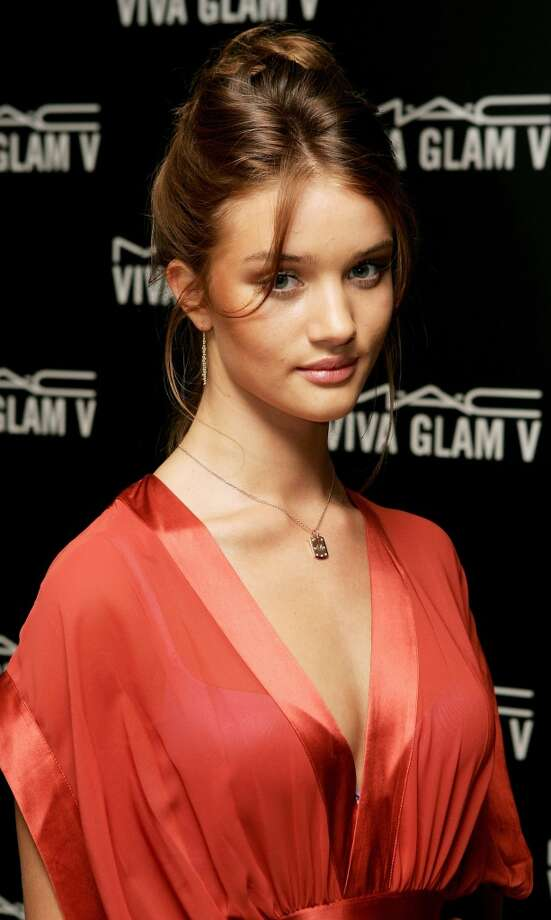 Model Rosie Huntington-Whiteley at a London Fashion Week event in 2005. Photo: Chris Jackson, Getty Images