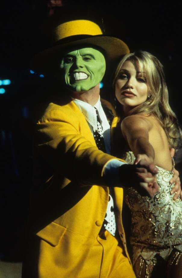 Cameron Diaz began acting with the 1994 movie 'The Mask,' starring Jim Carrey. Her modeling agency recommended her for the role. Photo: Archive Photos, Getty Images