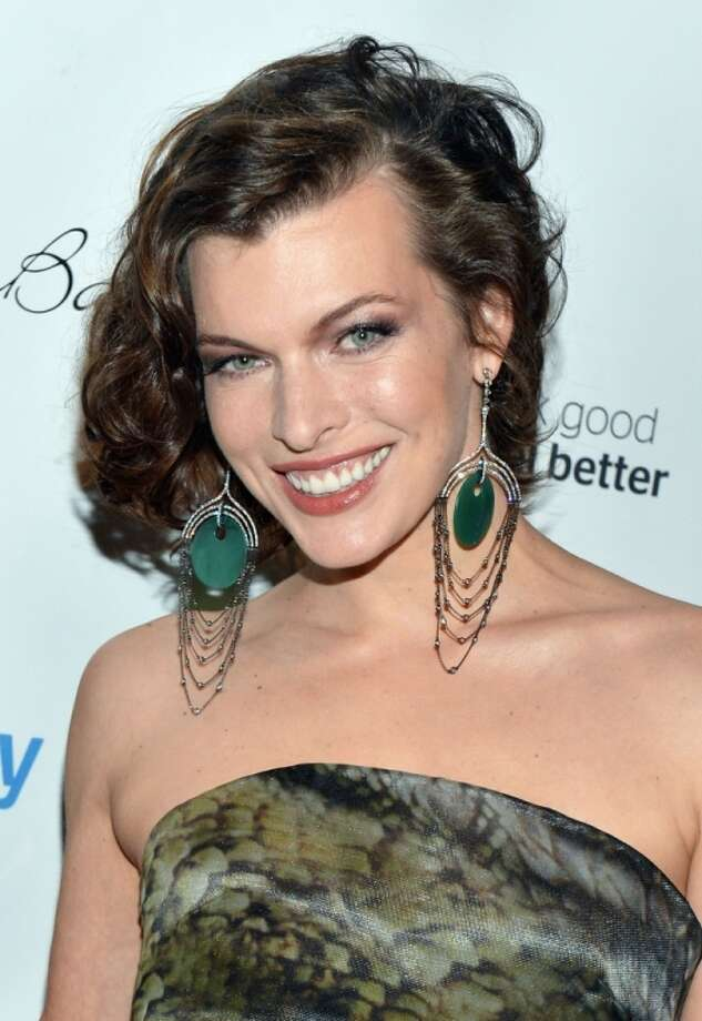 Actress Milla Jovovich got her start in the business as a model, scoring her first magazine cover (for Mademoiselle) at age 12. 1997's 'The Fifth Element' was her big acting breakthrough, and she's starred in the 'Resident Evil' series. Photo: Slaven Vlasic, Getty Images