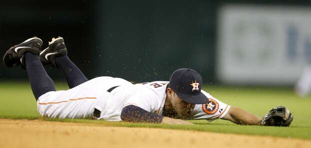 April 29: Nationals 4, Astros 3  Houston held the lead until the 8th inning, when the Nationals tied the game at three, and then gave up the lead for good in the top of the 9th, suffering their 18th loss of the season.  Record: 9-18. Photo: Karen Warren, Houston Chronicle