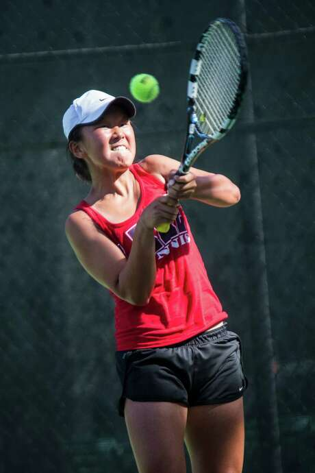 Clear Lake's Janice Shin has a state championship to enjoy as a freshman. Photo: Andrew Buckley, MBR / The Conroe Courier
