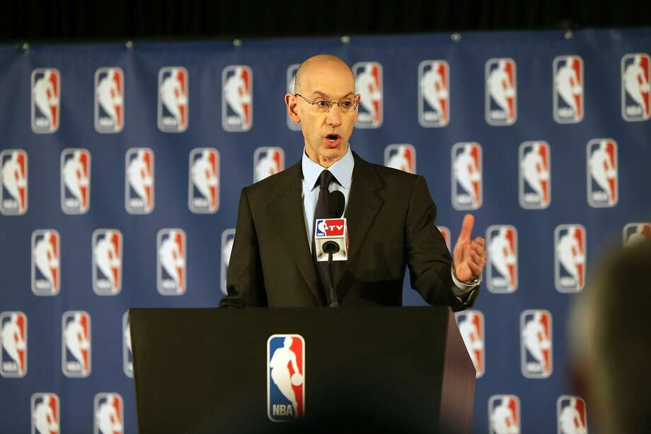 New NBA Commissioner Adam Silver acted decisively. Photo: Chris Pedota, McClatchy-Tribune News Service