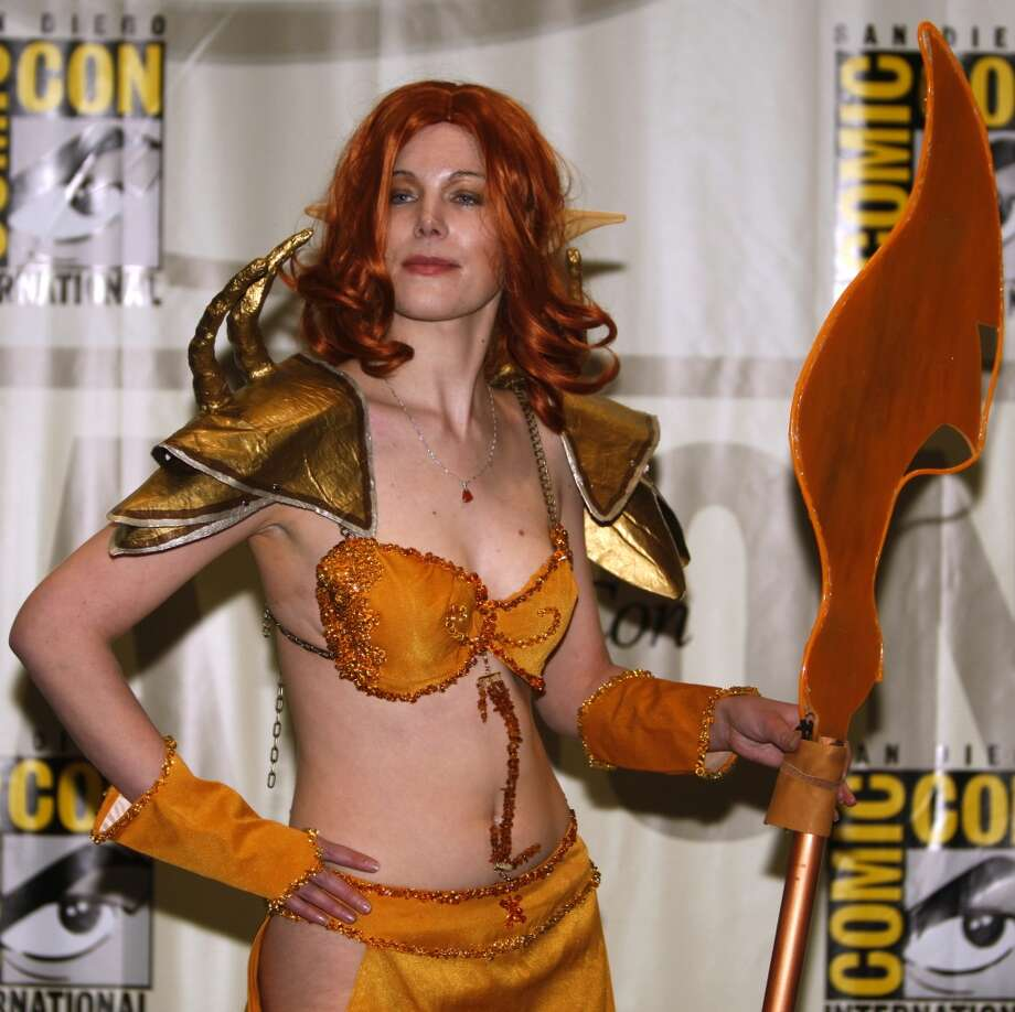 Julia Nolan is Soridormi, at WonderCon in 2009. Photo: Paul Chinn, The Chronicle