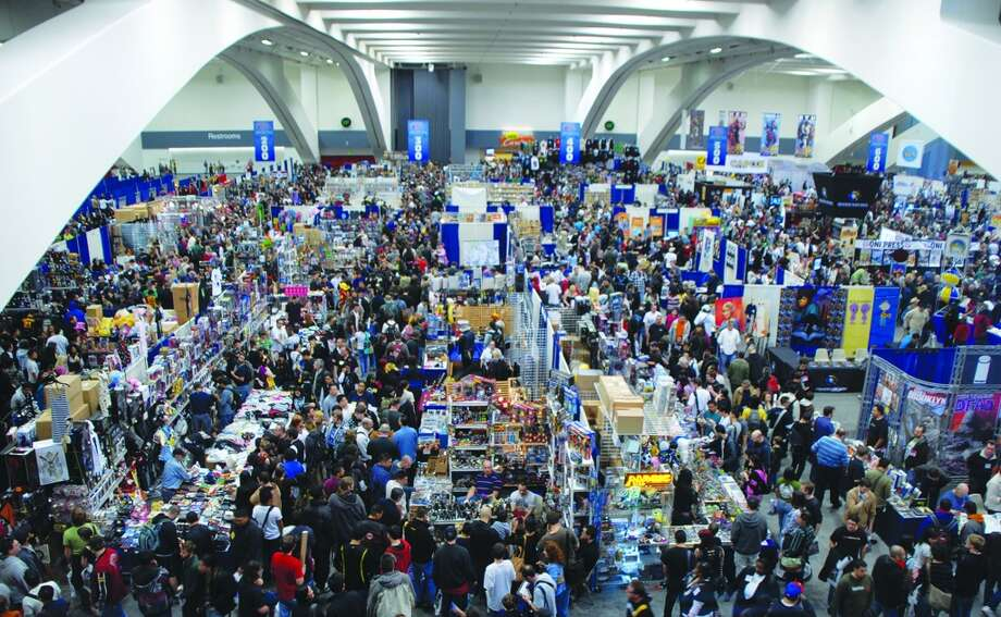 The main exhibition hall at WonderCon, which was a fixture at the Moscone Center until 2011. Photo: Tom DeLeon, Special To The Chronicle