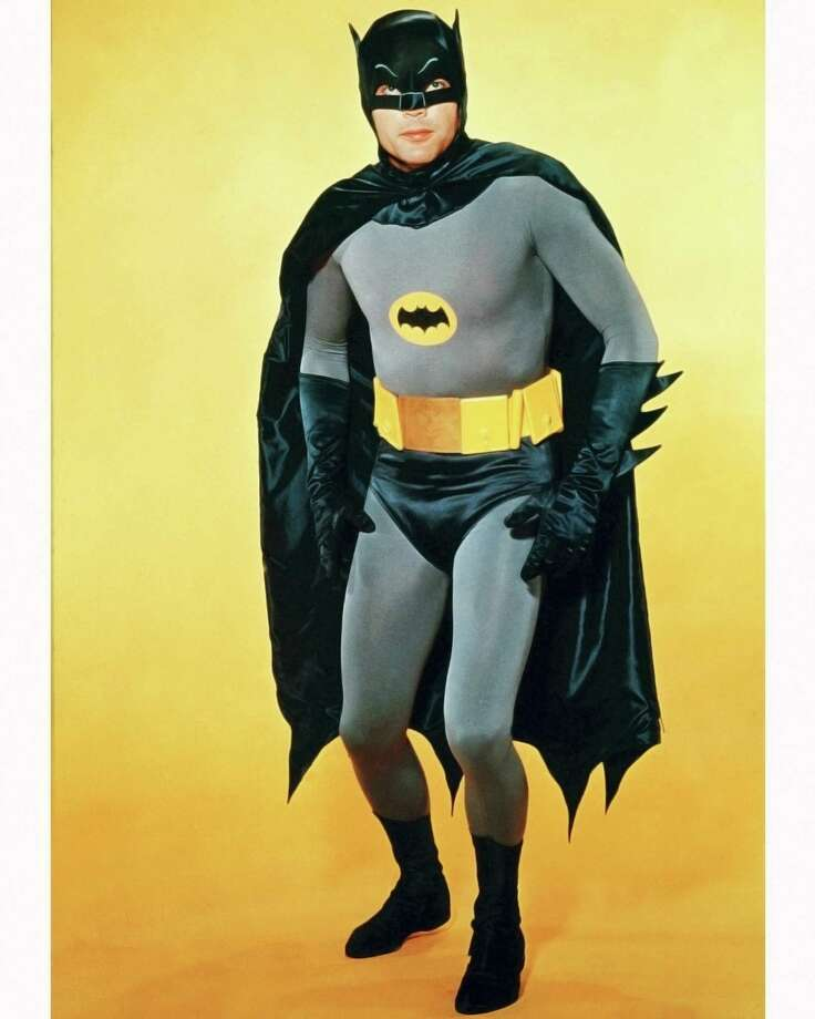 "The early costume was made for the 1966 ""Batman"" TV show, and later for ""Batman: The Movie."" Photo: Silver Screen Collection, Getty Images / Moviepix"