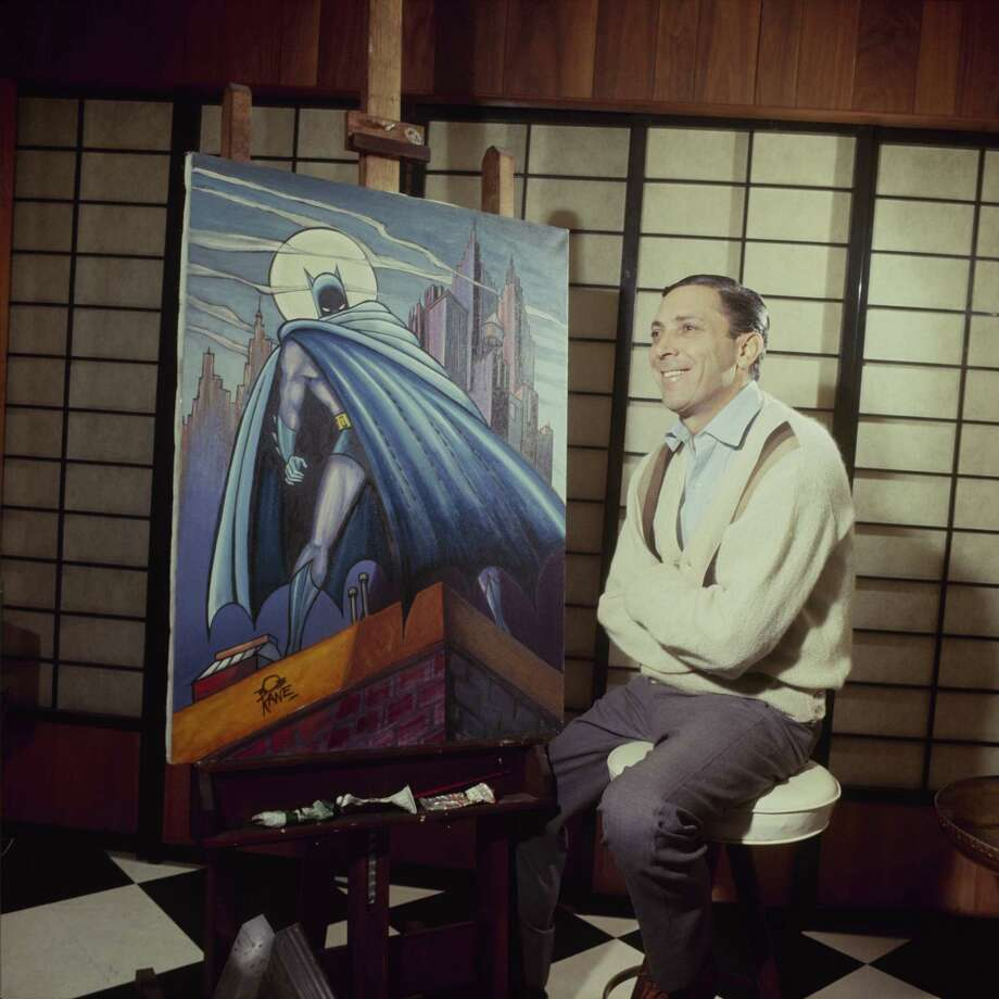 Bob Kane, the creator of Batman, photographed in 1965. Photo: ABC Photo Archives, Getty Images / 2010 American Broadcasting Companies, Inc.