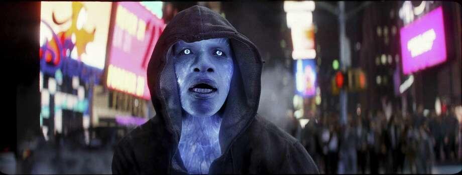 """Jamie Foxx stars as Electro in """"The Amazing Spider-Man 2."""" (Niko Tavernise/Columba Pictures/MCT) Photo: Niko Tavernise, HO / MCT"""