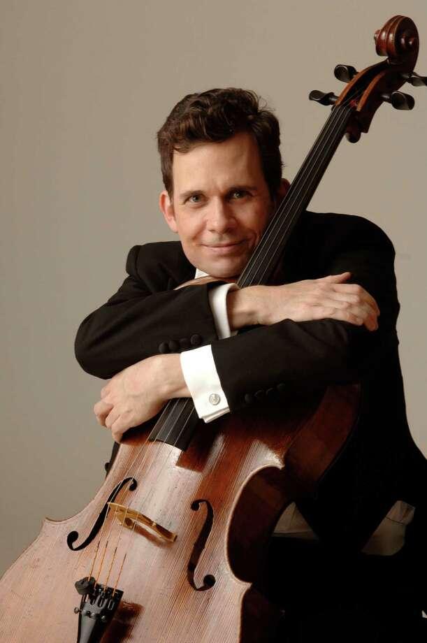 Brinton Averil Smith is the Houston Symphony's principal cellist. Photo: Sandy Lankford