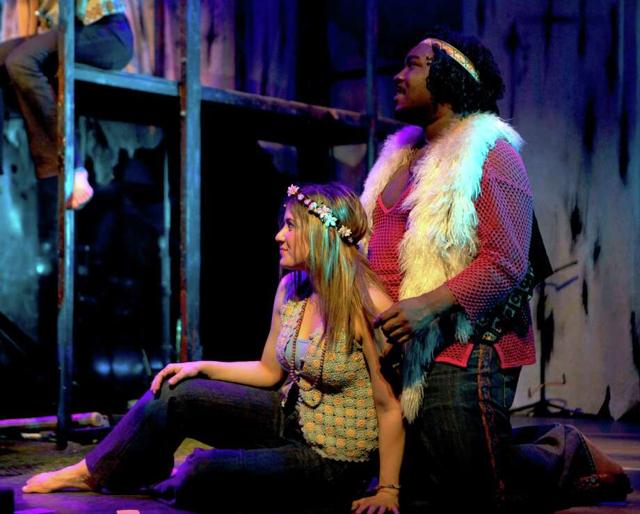 "The legendary 1968 rock musical ""Hair"" is playing four performances at the Palace Theater in Waterbury stating Friday, May 2. Photo: Contributed Photo / Connecticut Post"