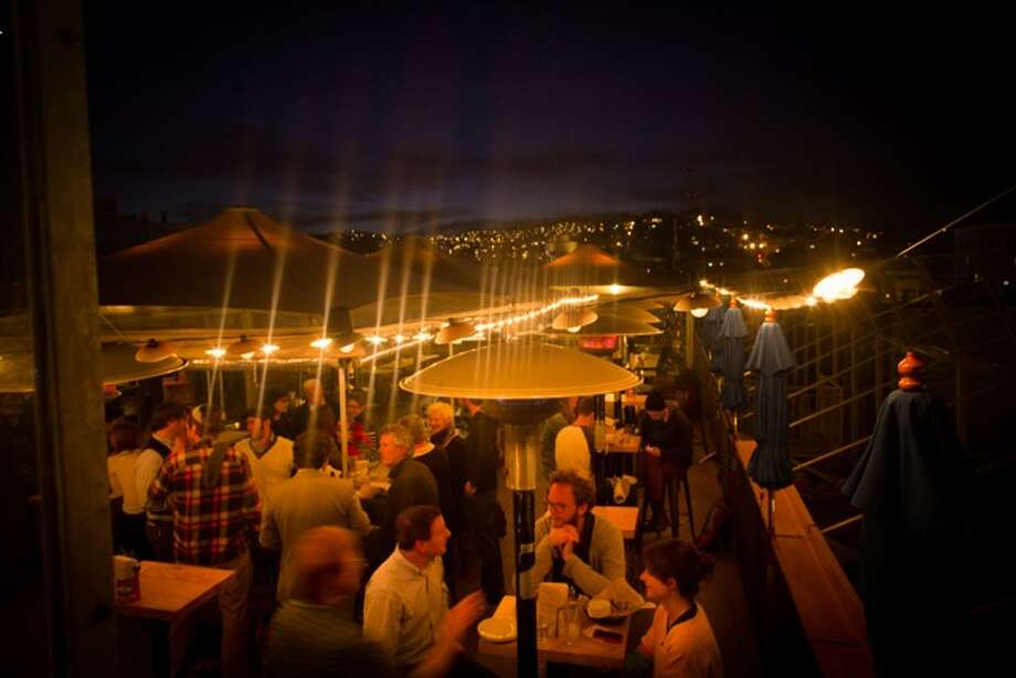 El Techo de Lolinda, San Francisco. Not only is it outside, but it's got the best rooftop bar in town. Photo: Eric Wolfinger
