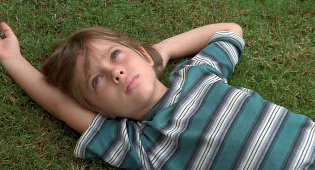 """Boyhood""IMDb: 8.8/10Rotten Tomatoes: 100 percent Review by Mick LaSalle: Linklater masterpiece of and for the ages Five stars If great art consists of finding an ideal balance between planning and improvisation, ""Boyhood"" is one of cinema's glorious examples. Going in, Linklater knew the general outline of his story, but he didn't know that 9/11 would happen, or that Lady Gaga would become famous, or that Ellar Coltrane, who plays the central character, would become a handsome teenager. He worked with the actors he had and with the world as he found it. Nobody has ever done this.