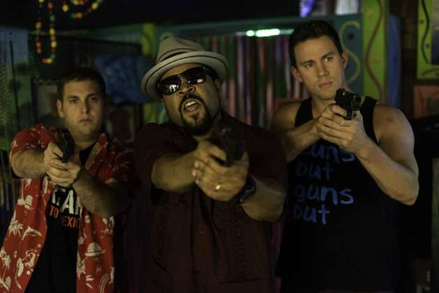 """22 Jump Street.""IMDb: 7.9/10Rotten Tomatoes: 85 percentReview by Mick LaSalle: '22 Jump Street' is laugh-out-loud funny""22 Jump Street"" is exactly what comedy is today. It's coarse, free-flowing and playful. People talk the way they talk in real life. It has no sentiment of any kind and no phony uplift. No one becomes a better person for having watched it. It's made with an awareness of the past, so you get subtle riffs on genre clichés from earlier comedies. And it's really funny, not ""heh-heh"" funny, but laugh-out-loud funny, virtually scene by scene. Photo: HANDOUT, McClatchy-Tribune News Service / MCT"