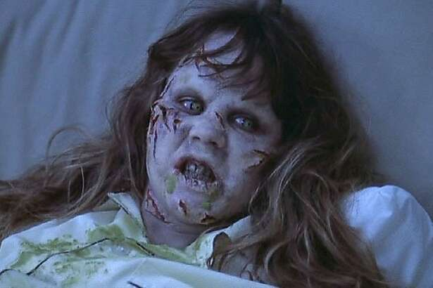 """Linda Blair in the classic horror flick """"The Exorcist."""""""
