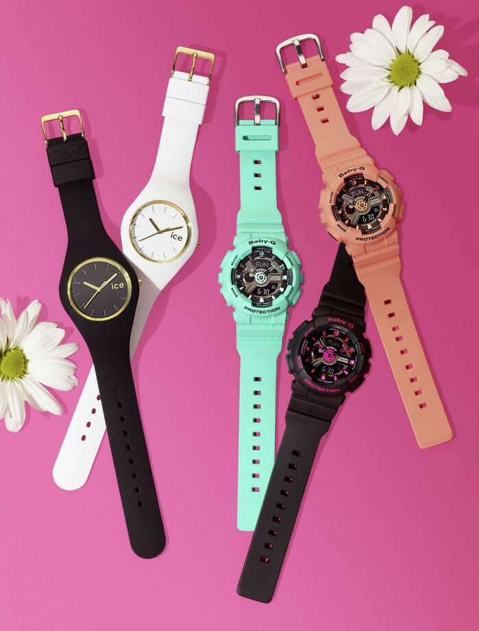 Ice and Baby-G watches