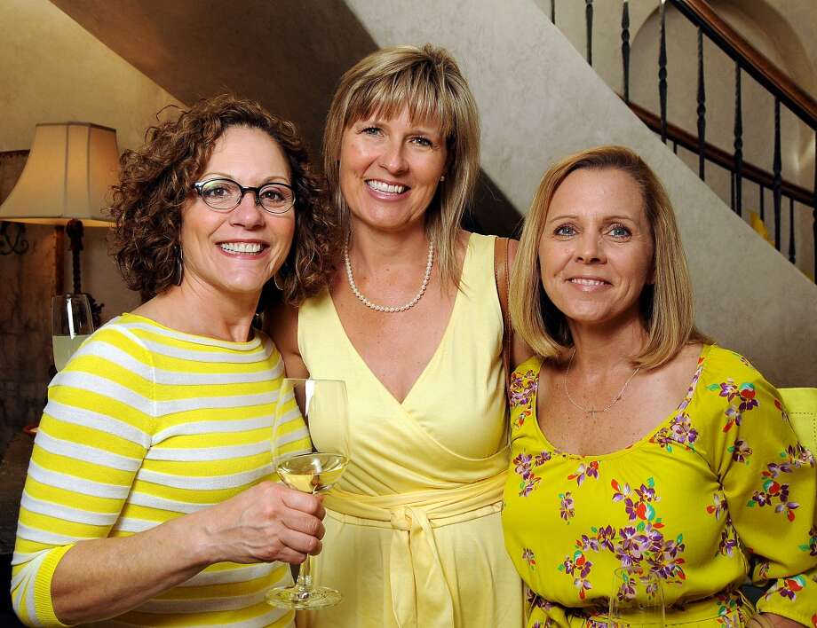 From left: Dionne Kubin, Heather Bothe and Karin Donovan Photo: Dave Rossman, For The Houston Chronicle