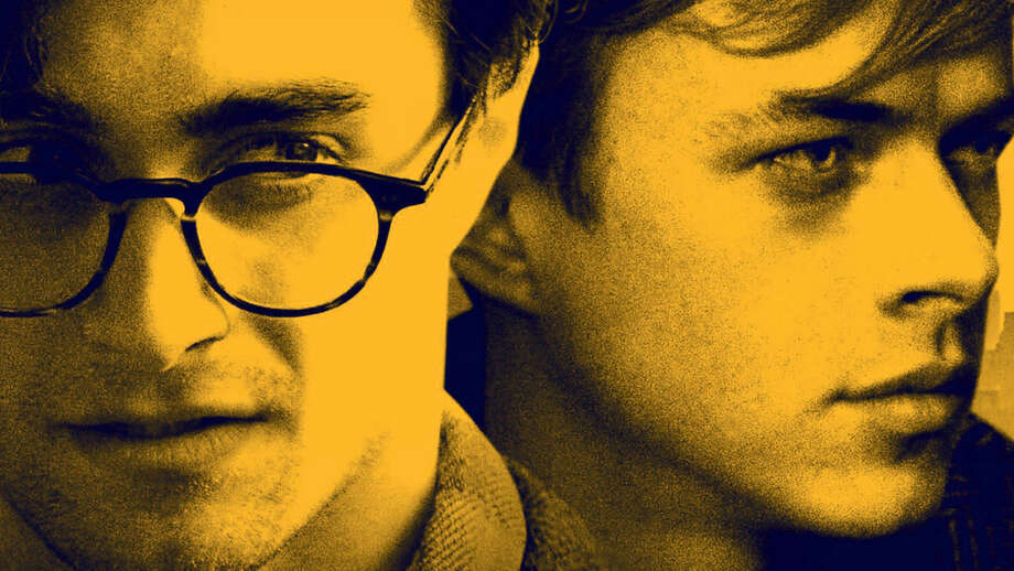 "Daniel Radcliffe, left, and Dane DeHaan in ""Kill Your Darlings."""