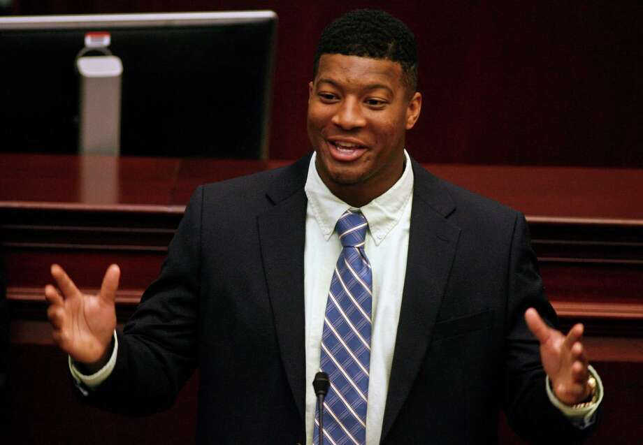 Florida State's Heisman Trophy quarterback Jameis Winston was issued a civil citation after sheriff's deputies say he walked out of a supermarket Tuesday night without paying for $32 worth of crab legs and crawfish. Winston, who is a relief pitcher for the school's baseball team, was suspended from the team indefinitely.