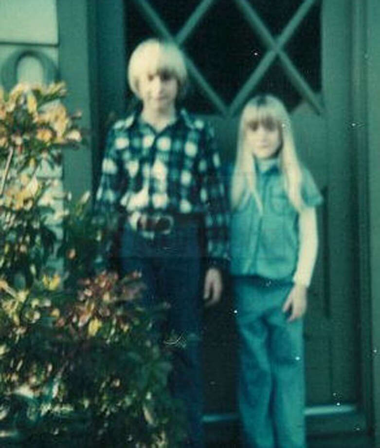 A young Kurt Cobain, left, and Kim in their childhood home in Aberdeen, Wash. Photo: Courtesy Kim Cobain, AP / AP2013