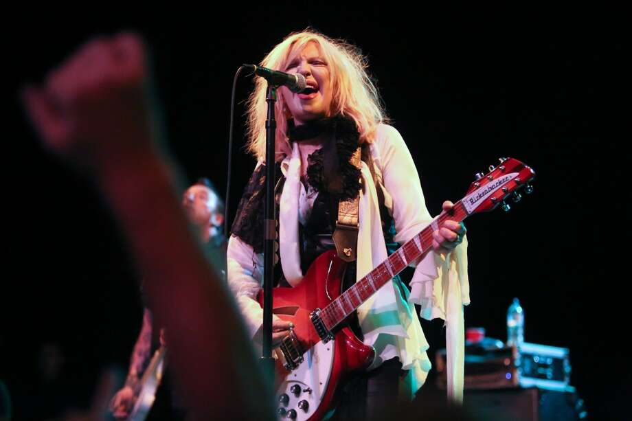Courtney Love, the former wife of northwest native and Nirvana frontman Kurt Cobain, performs in 2013. Photo: Joshua Trujillo, Seattlepi.com