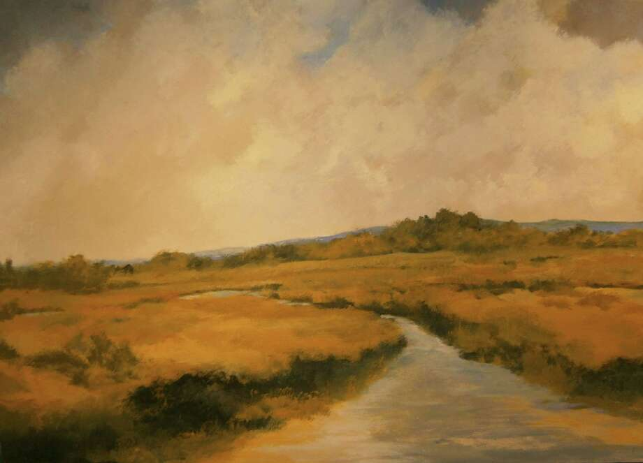 """Afternoon Marsh"" is one of several paintings by Jim Grabowski that will be on display in May at the Geary Gallery, of Darien. Photo: Contributed Photo, Contributed / Darien News"