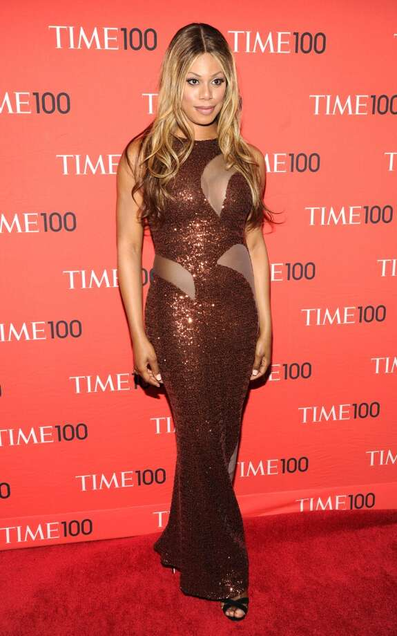 Laverne Cox attends the TIME 100 Gala, TIME's 100 most influential people in the world at Jazz at Lincoln Center on April 29, 2014 in New York City. Photo: Kevin Mazur, Getty Images For TIME