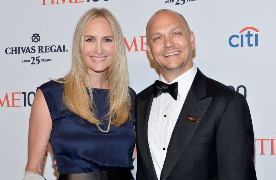 Danielle Lambert and honoree Tony Fadell attend the TIME 100 Gala, TIME's 100 most influential people in the world, at Jazz at Lincoln Center on April 29, 2014 in New York City. Photo: Ben Gabbe, Getty Images For TIME