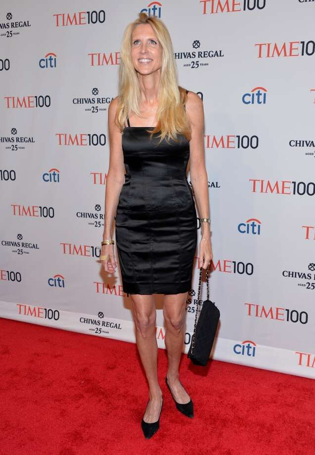Ann Coulter attends the TIME 100 Gala, TIME's 100 most influential people in the world, at Jazz at Lincoln Center on April 29, 2014 in New York City. Photo: Ben Gabbe, Getty Images For TIME