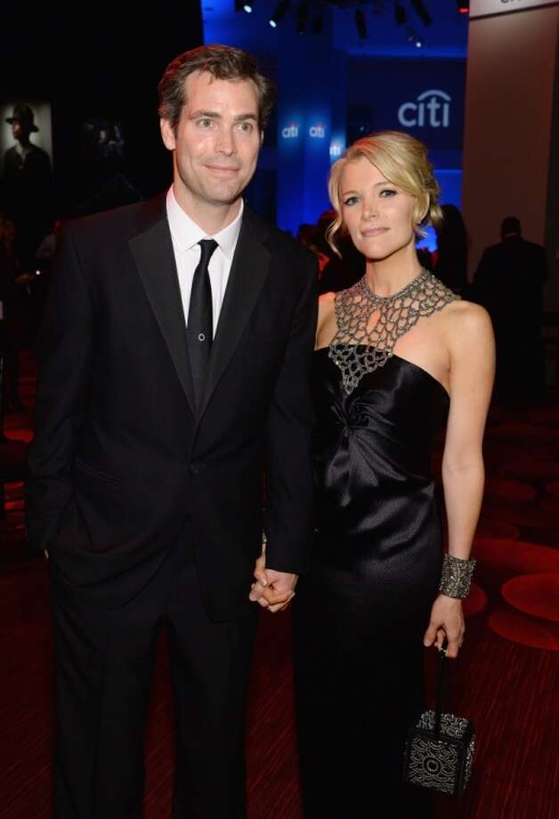 Writer Douglas Brunt (L) and Honoree Megyn Kelly attend the TIME 100 Gala, TIME's 100 most influential people in the world, at Jazz at Lincoln Center on April 29, 2014 in New York City. Photo: Larry Busacca, Getty Images For TIME