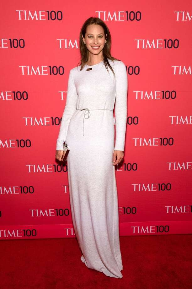 Christy Turlington Burns attends the 2014 Time 100 Gala at Frederick P. Rose Hall, Jazz at Lincoln Center on April 29, 2014 in New York City. Photo: D Dipasupil, FilmMagic