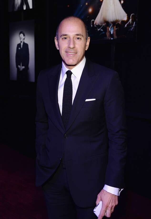 Journalist Matt Lauer attends the TIME 100 Gala, TIME's 100 most influential people in the world, at Jazz at Lincoln Center on April 29, 2014 in New York City. Photo: Larry Busacca, Getty Images For TIME