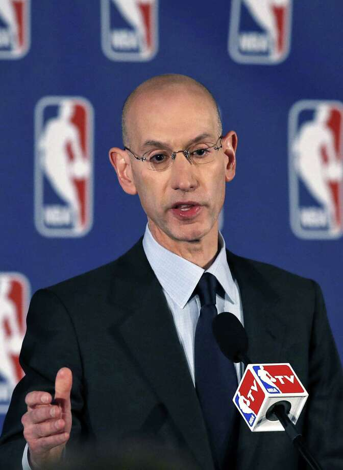 NBA Commissioner Adam Silver fined Donald Sterling $2.5 million and banned him from the NBA for life. That may seem harsh. It is not. Photo: Kathy Willens / Associated Press / AP