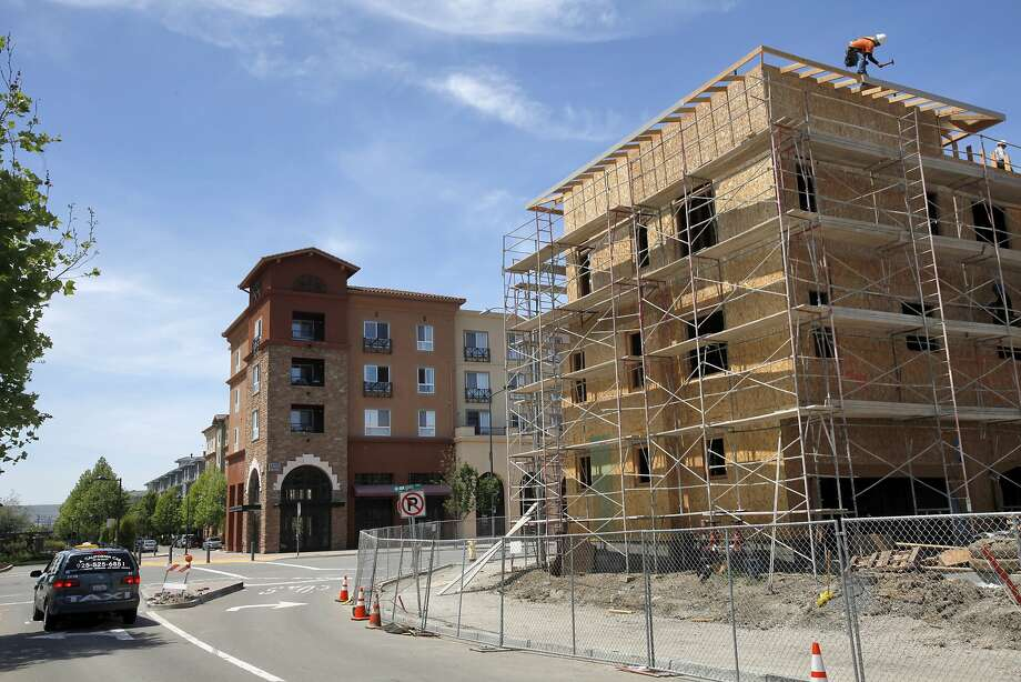 New housing construction in Dublin is helping make the Alameda County city the third-fastest-growing in California. Photo: Leah Millis, San Francisco Chronicle