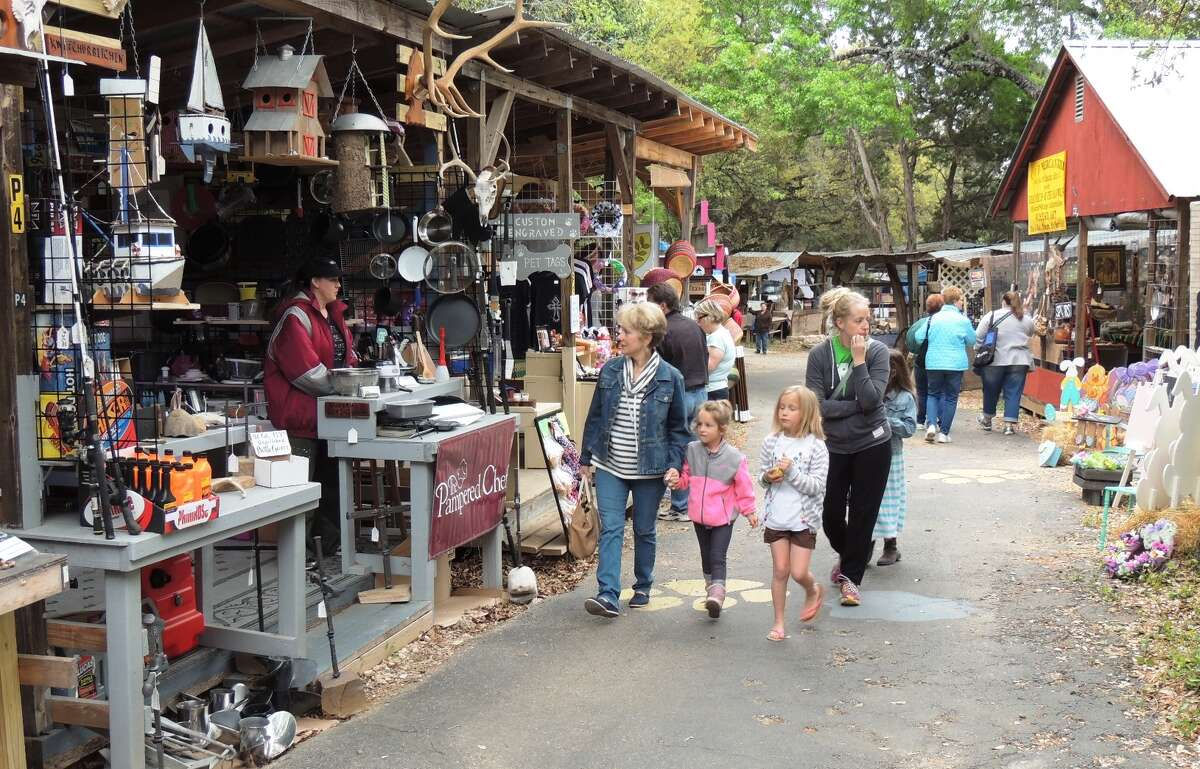 The biggest shopping experience for Wimberley visitors is also one of the town's major attractions. The Market Days event is the first Saturday of every month, March-December.