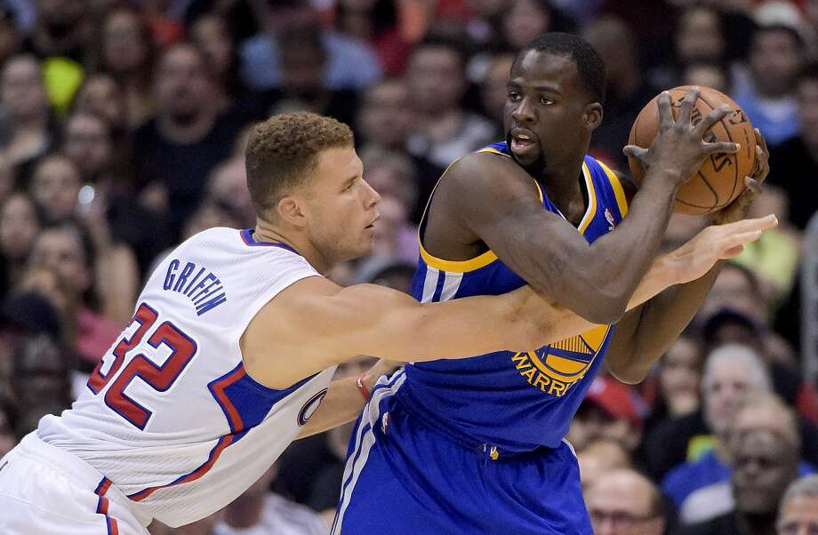 Neutralizing Clippers forward Blake Griffin is a key test of toughness for the Warriors' Draymond Green. Photo: Associated Press