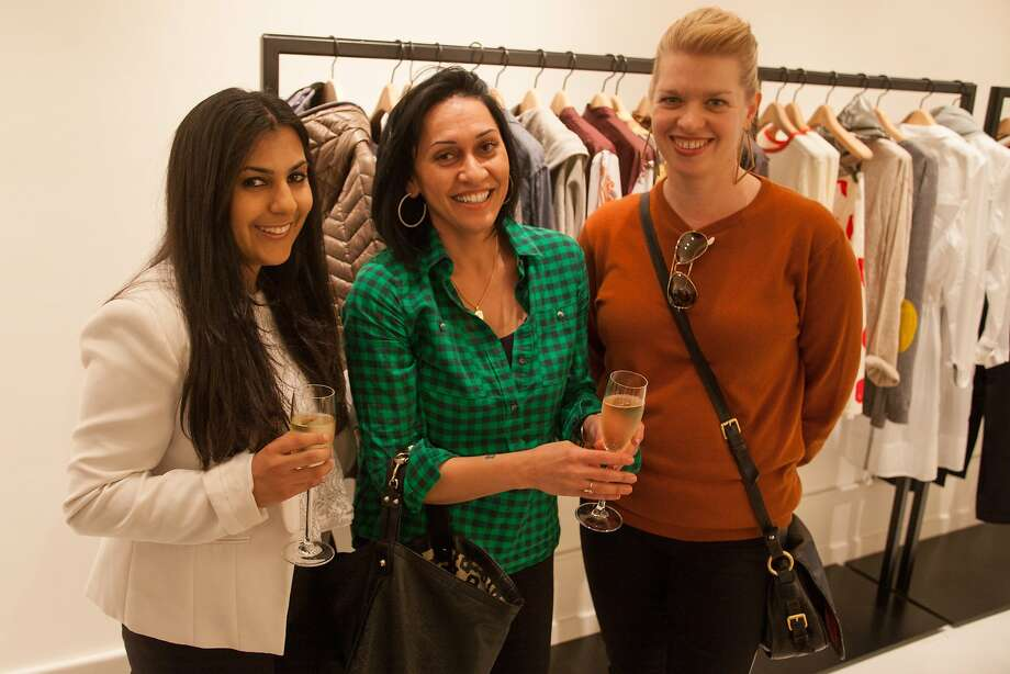Paloma Dudum, Izabell Mason, and Kelly Prince at Ethos for the Chronicle Style launch on April 23rd, 2014 in San Francisco, CA Photo: Dan Dion, Special To The Chronicle