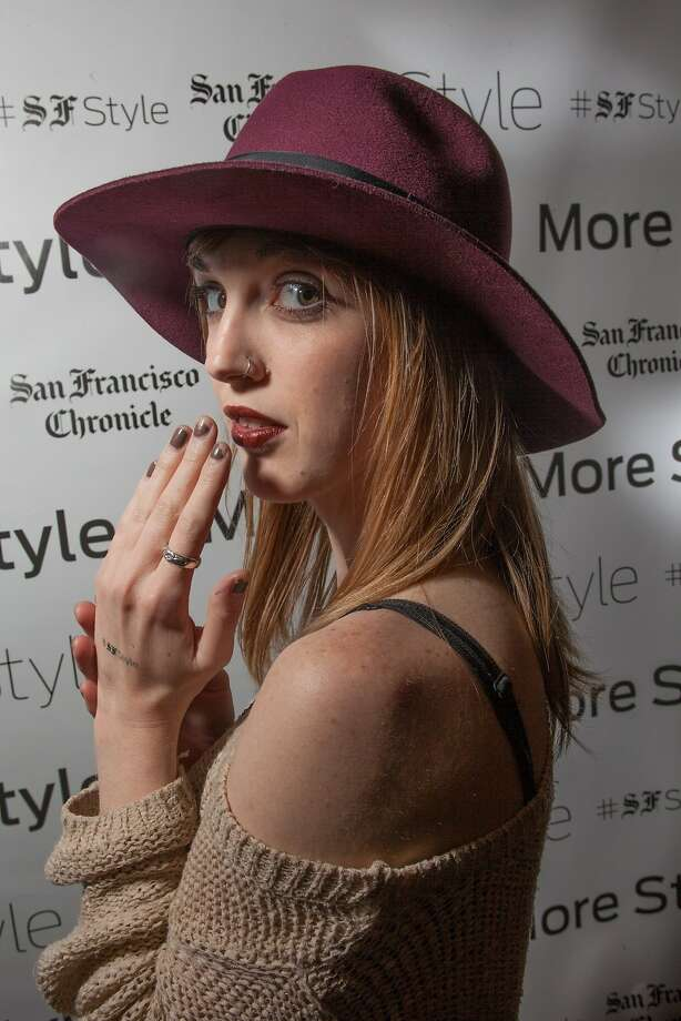 Kelly Cramer of Goorin Brothers Hats for the Chronicle Style Launch on April 23rd, 2014 in San Francisco, CA. Photo: Dan Dion, Special To The Chronicle