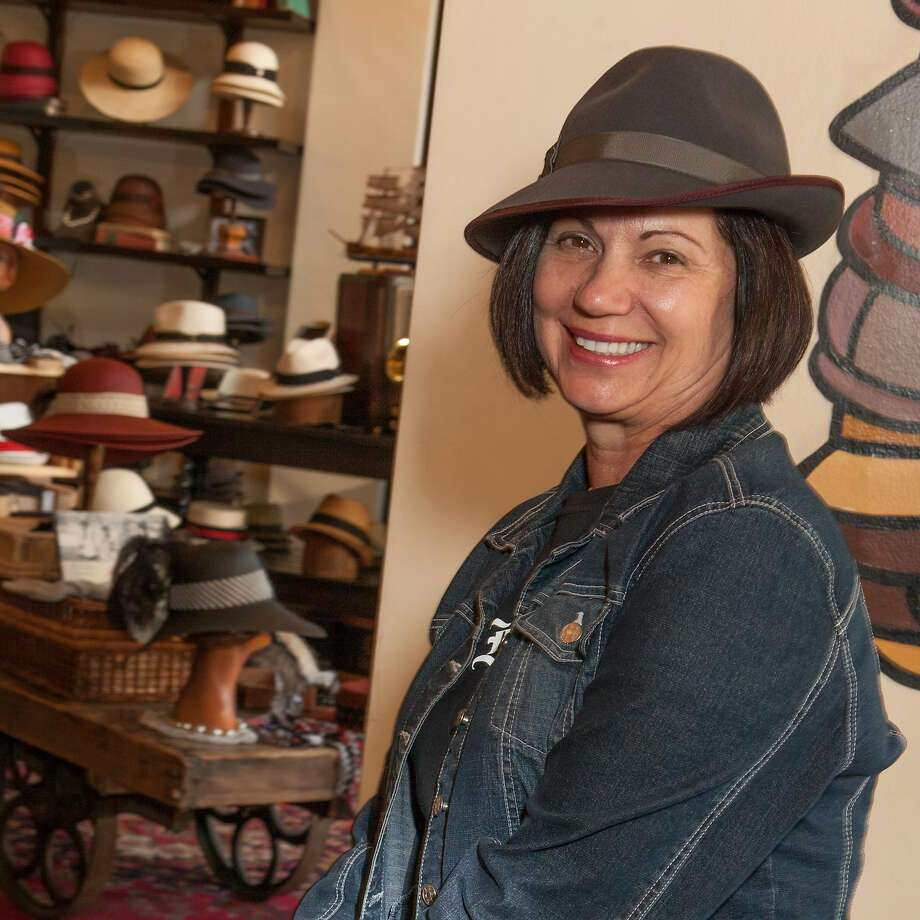 Erica Simpson at Goorin Brothers Hats for the Chronicle Style Launch on April 23rd, 2014 in San Francisco, CA. Photo: Dan Dion, Special To The Chronicle