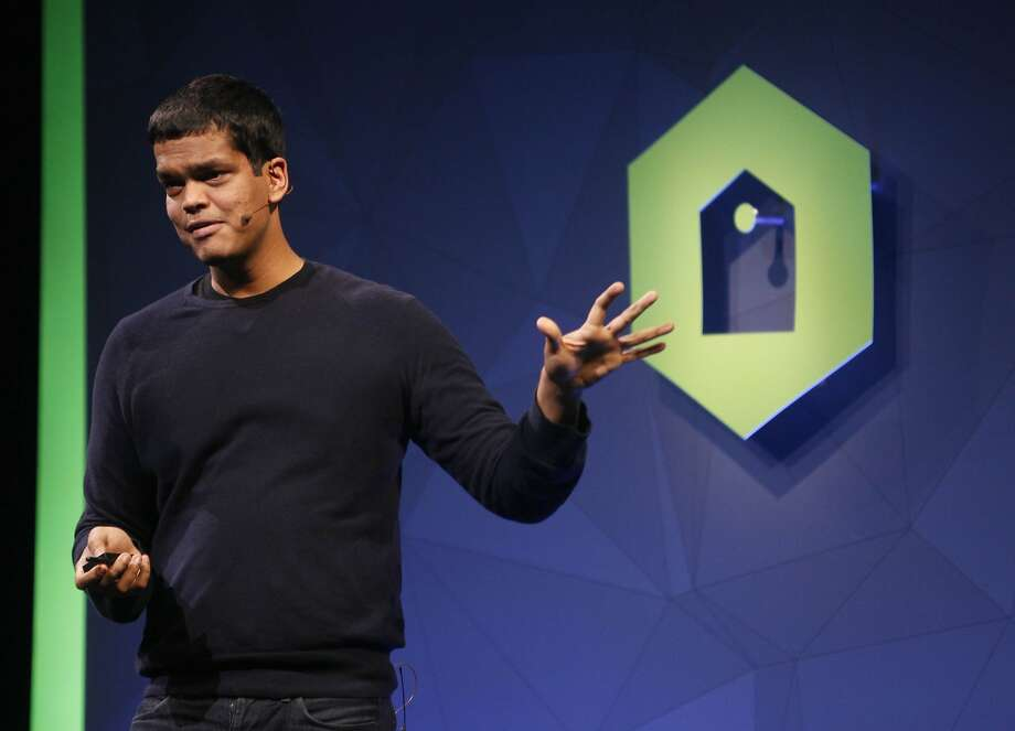 Sriram Krishnan speaks during Monetize Your App with Audience Network at Facebook's F8 developers conference. Photo: Lea Suzuki, The Chronicle