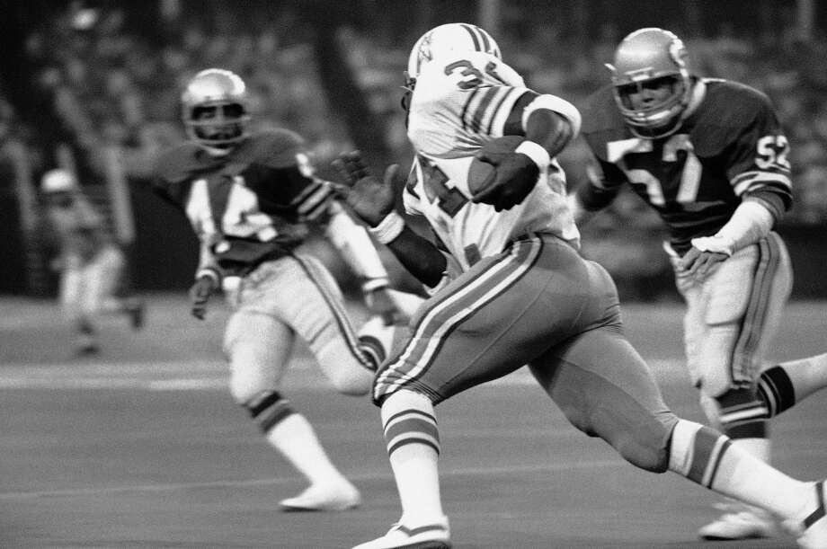 1979: Joe Norman45th-overall pick | Position: Linebacker | College: IndianaNorman (pictured No. 52) played all four of his pro years with the Seahawks, mainly on special teams, though he did get seven starts in 1981. He retired after the 1983 season with one interception and three fumble recoveries to his name. Photo: Ed Kolenovsky, ASSOCIATED PRESS