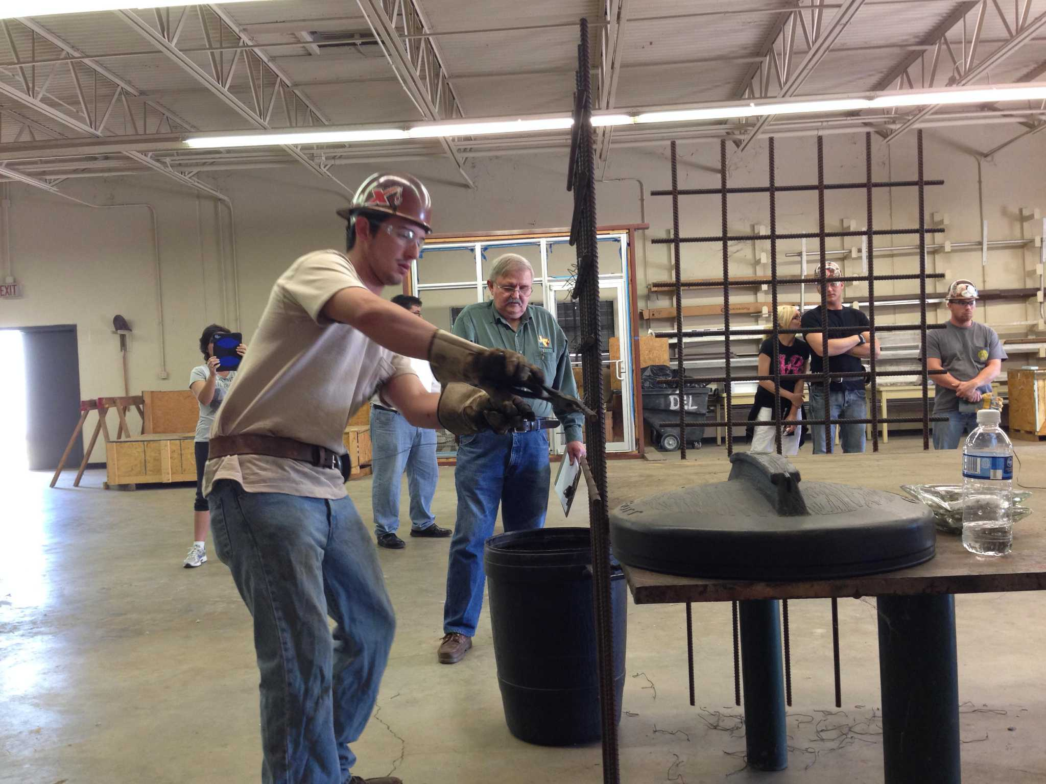 Demand for ironworkers best it's been in 20 years - HoustonChronicle com