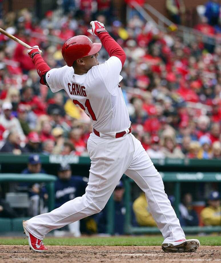 St. Louis Cardinals right fielder Allen Craig Photo: Scott Rovak, Reuters