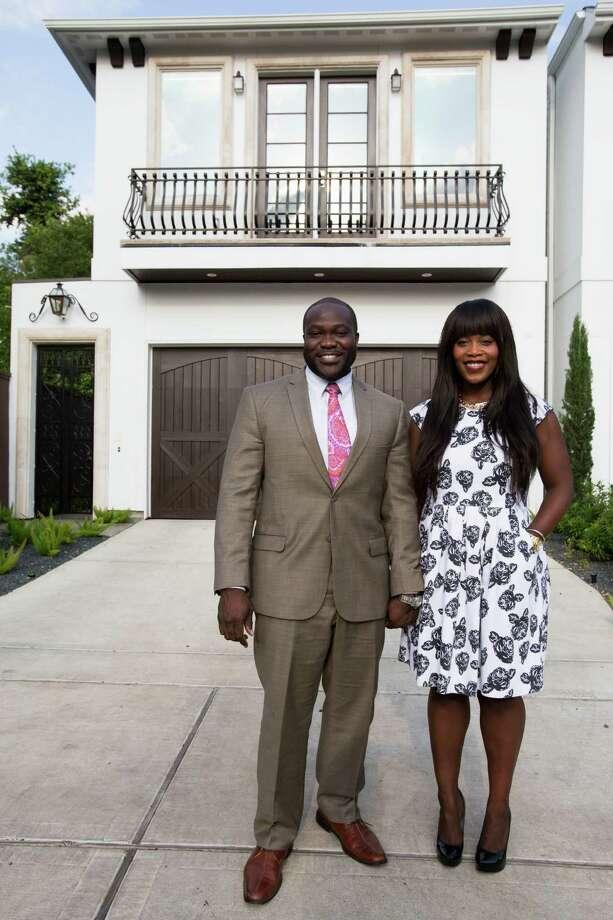 James Ephraim and Carrie Ephraim in their Hyde Park town home April 21, 2014 in Houston.  (Eric Kayne/For the Chronicle) Photo: Eric Kayne / Eric Kayne